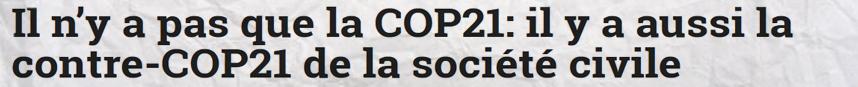 unité nation COP21