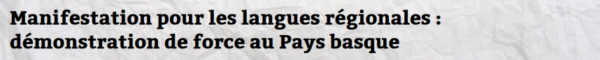 unité nation langues régionales