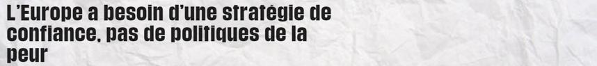 politiques français salaire peur