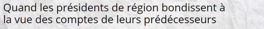 politiques présidents de région